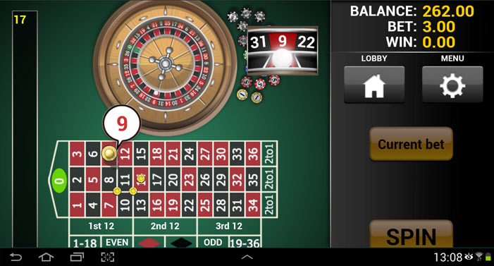 Gambling demonstration